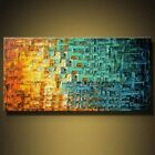 Modern Abstract hand painted Art HUGE Oil Painting Wall Decor canvas no framed