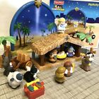 Fisher Price Little People NATIVITY SET N6010 EUC 2008 MUSICAL Complete Set Box