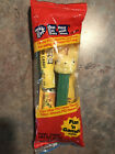 VINTAGE Fat Earred Green and Yellow Easter Bunny PEZ Dispenser NO FEET