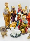 Christmas Nativity Set Scene 8 Figures Nacimiento Navideo De Nio Jesus 11pcs