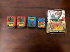 1988 Topps Dinosaurs Attack Cards Box 42 Ct. Blue & Red Wax Card Packs **Gum**