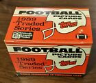 1989 TOPPS FOOTBALL TRADED COMPLETE Factory Set 132 Cards Sanders Aikman RC