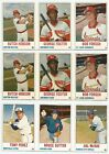 1978 Hostess Hand Cut Panel Lot of 25 Assorted Full Borders With Hall of Famers