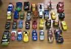 Lot Of 33 Disney Pixar Cars Lightning McQueen And Friends DieCast And Plastic