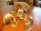 13 Pc Lenox Little Town Of Bethlehem Nativity Set with Original Boxes