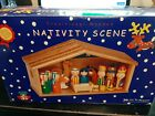 2008 Nativity Scene Made By The Toy Workshop Wood Christmas Set NEW in BOX