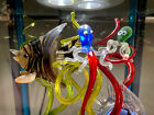 Mdina Glass Malta Underwater Creatures Stuck In Time Capsule Signed Dated Murano