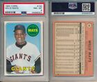 Vintage Willie Mays Baseball Card Timeline: 1951-1974 97