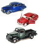 BEST OF 1940S DIECAST CARS SET OF 1 24 SCALE DIECAST CARS BY MOTOR MAX