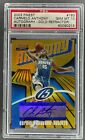 2003-04 TOPPS FINEST CARMELO ANTHONY ROOKIE GOLD REFRACTOR AUTO 25 PSA 10 RC
