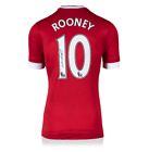 WAYNE ROONEY MANCHESTER UNITED AUTOGRAPHED SIGNED 2015-16 JERSEY ICONS AUTHENTIC