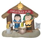 Peanuts Nativity Inflatable Christmas Decorations with Charlie Brown in Snoopy