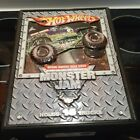 Lot of 15 Hot WHEELS Monster Jam trucks 164 with 3d Carrying case