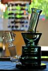 Pearl Black Hookah Glass Water Pipe bong 6 honeycomb filter Fast Shipping