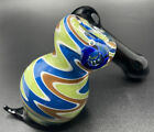 Bubbler Switch Back Bubbler Water Pipe Hand Blown High Quality