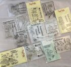 Clear Acrylic Stamp Lot of 13 Cute Kids Boy Holiday Scout Birthday Train NEW