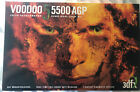 3DFX Voodoo 5 5500 AGP 64MB Dual SLI Complete w Box CD Y cable Untested