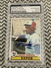 Andre Dawson Cards, Rookie Card and Autographed Memorabilia Guide 36