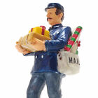 Beauty Restored Lemax 2001 Mailman Village Collection #12480 Retired Rare Detail