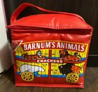 Vintage Nabisco Barnums Circus Animal Crackers Vinyl Insulated Lunch Bag HTF