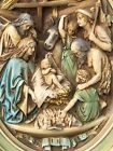 Unique Vintage NATIVITY Christmas RELIGIOUS JESUS Wall PLAQUE Antique Decor