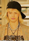 CHANEL XL CC LOGO CRYSTALS Double STRAND PEARLS CHAIN NECKLACE RUNWAY