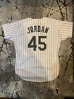 Chicago White Sox Michael Jordan Vintage Russell Authentic Lettered Jersey 48