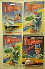 Matchbox 1992 Thunderbirds Figures  Die Cast Vehicles Lot of 4 Toys New