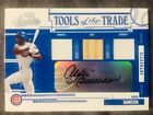 2005 Absolute Andre Dawson Auto Autograph Game Used Jersey Pants Bat 50 Rare