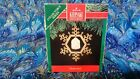 RARE 1991 NEW GREATEST STORY CHRISTMAS ORNAMENT FINE PORCELAIN AND BRASS SCARCE