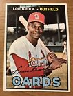 Lou Brock Cards, Rookie Card and Autographed Memorabilia Guide 21
