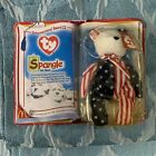 TY Beanie Baby-Rare Spangle The Bear - McDonalds 1999 New In Box Never Opened