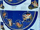 Nativity Quilted Fabric Panel cut and sew Christmas Tree Skirt Cranston VIP 2006