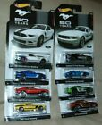 Complete Set of 8 NEW 2013 Hot Wheels 50 Years MUSTANG Diecast 164 Cars