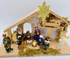 Christmas Nativity Set 12 Piece Manger Nacimiento Navideo Del Nio Jess