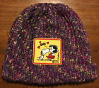 Snoopy And Lucy Multi Color Purple Blue Yellow Green Beanie Snoopy Kissing Lucy