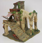 2001 Grandeur Noel Bethlehem Village Porcelain Stone House 2 Christmas Nativity
