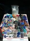 9lbs+ RIDICULOUS HUGE LOT Vintage Glass Seed Beads Jewelry Making Supplies TUBES