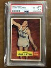 1957 Topps Harry Gallatin HOF ROOKIE RC #62 PSA 6.5 EX-MT+