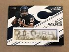 Gale Sayers 2015 Panini Clear Vision C-Thru Autograph Auto 50