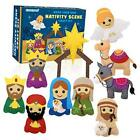 Nativity Scene Craft Kit Christmas Ornaments DIY Kids Craft and Sew Kits for