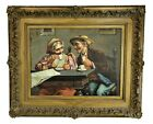 Trepiccione Painting Old Heads Young Hearts Italy Napoli c 1903