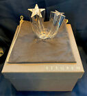 STEUBEN Crystal Art Glass STAR STREAM By Neil Cohen Mint Signed w Original Box