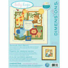 Dimensions Savannah Birth Record Counted Cross Stitch Kit Baby Shower Animal New