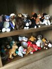 REDUCED!!TY BEANIE BABIES AND BUDDIES MWMT!! HOLIDAYS< DOGS, BEARS, CATS, BBOM