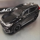1 43 Scale 2021 China Honda CRV Black Alloy Diecast Model Car Collection Gifts