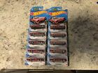 Hot Wheels Kroger Exclusive Red TV Batmobile Lot of 10 VHTF Awesome