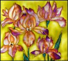 Stained glass Glass art Wall dcor Window dcor Lilies