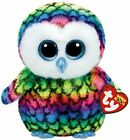 Ty Beanie Boos - ARIA the Owl (8-9 Inch) Medium Buddy (Claire's Exclusive) MWMT