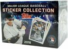 2018 Topps MLB Baseball Collectors Sticker Hobby Box: 50 Packs (400 stickers)